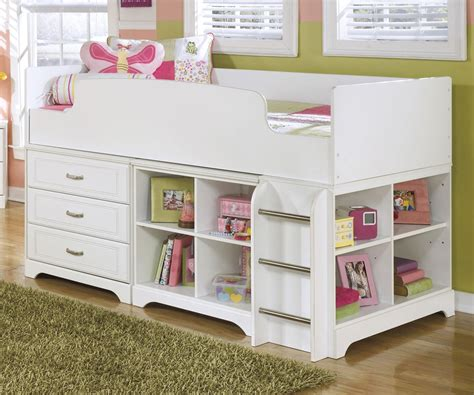 loft bed with dresser furniture lulu loft bed with dresser and bookcase