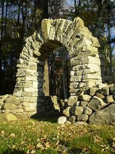Dry Stone Archway  Baldwin  Maine