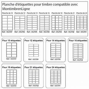 Etiquette Pour Boite Aux Lettres : planche 21 tiquettes pour timbre 63 5 x 38 1 mm ~ Dailycaller-alerts.com Idées de Décoration