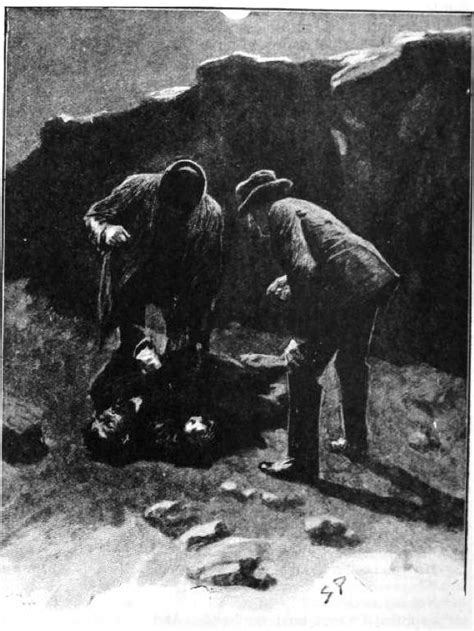 """""""It was the face of Selden, the criminal"""" — illustration"""