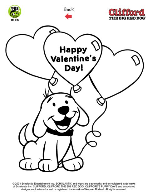 clifford coloring pages getcoloringpagescom