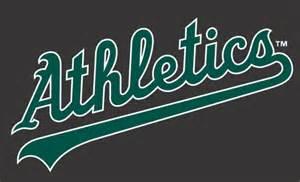 Oakland Athletics Logo Black and White