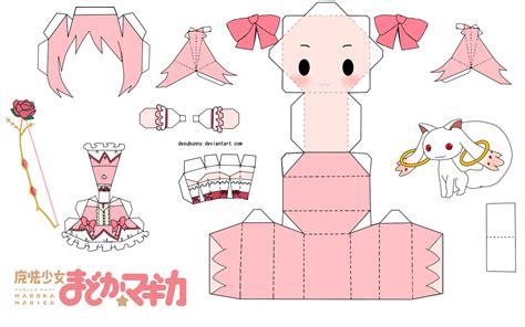 Mi Mundo De Eumotaku  Papercraft Chibic (bases
