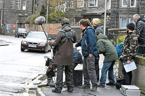 Video: Crew shoots movie on Aberdeen city centre streets ...