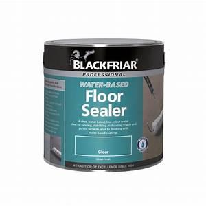 Blackfriar Water Based Floor Sealer
