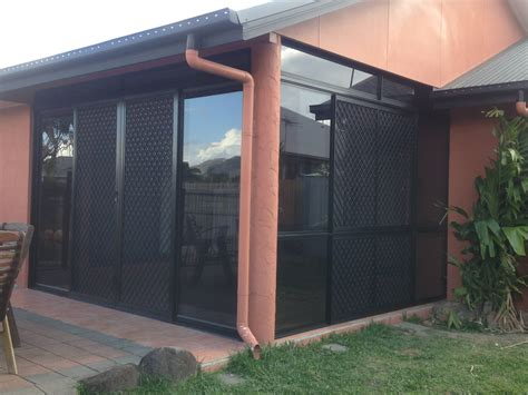 centre opening sliding glass door and combination centre
