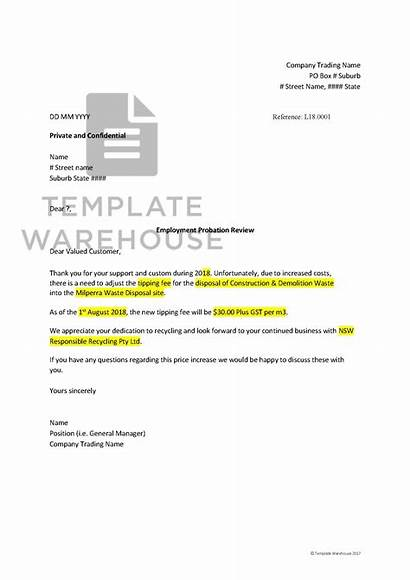 Increase Notification Letter Template Fm Clients Notify