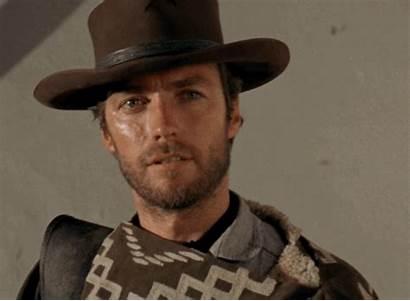 Eastwood Clint Dollars Fistful Cowboy Western Gifs