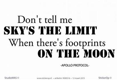 Quote Protocol Muursticker Zakelijk Tekst Zakelijke Apollo