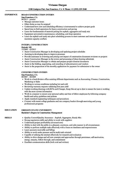 internship application letter  civil engineering students