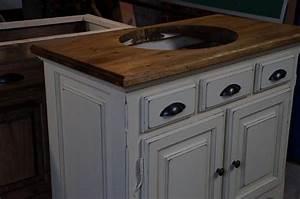 meuble lavabo n 3028 le geant antique With meuble lavabo