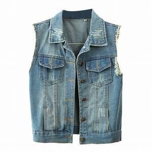 f47ce4f38 Jeans Jacket No Sleeve - Oasis amor Fashion