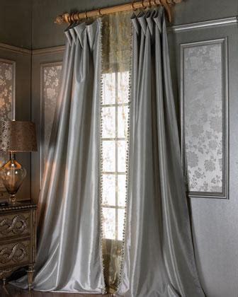crystal palace grey blue curtains