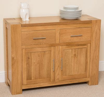 Chunky Oak Sideboard by Buy Kuba Chunky Solid Oak Small Sideboard From Our