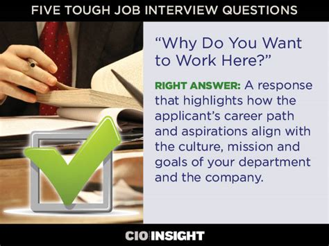 Why Work Here by Page 4 Five Tough Questions