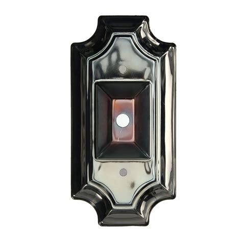 retro vintage rectangle style sconce wall l light base