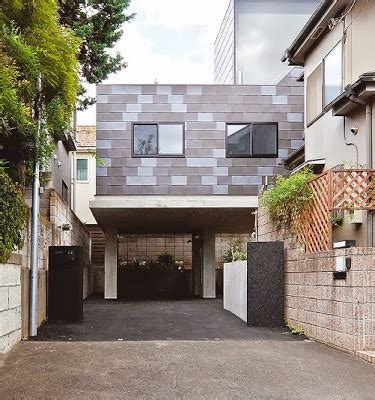 contoh desain rumah minimalis modern ala jepang gambar