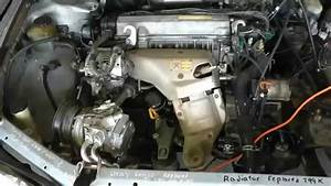 Part 1 Of 10 Remove Engine  U0026 Tranny Rebuild 1994 Toyota
