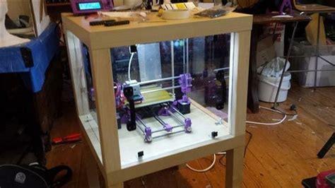 mesa basica de ikea  crear camara cerrada de impresora