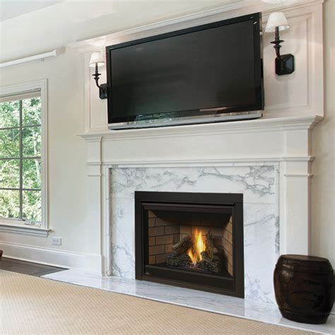 napoleon gas fireplaces napoleon ascent b42 top rear vented gas fireplace