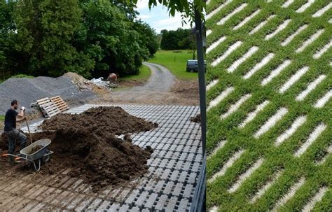 green driveway material green your driveway with permeable concrete pavers gardenista home