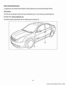 Nissan Altima Hybrid 2008 L32a    4 G Dismantling Guide  22