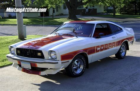 1978 Mustang Ii by White 1978 Ford Mustang Cobra Ii Hatchback Aotm