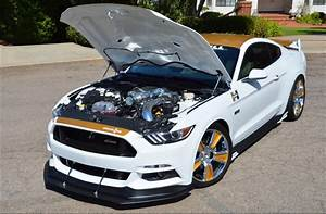 Hurst Builds A 750HP Limited Edition Ford Mustang For SEMA   Carscoops