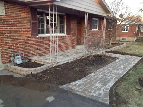 front porch pavers