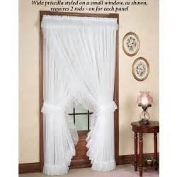 artistic priscilla curtains com modern curtain white