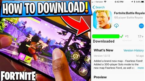 downloading fortnite mobile  android device  apk