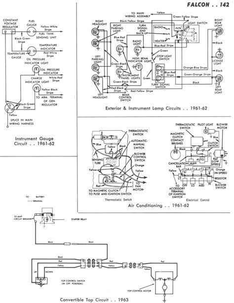 Falcon Wiring Diagrams