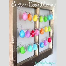 Homespun With Love 20 Kids Easter Craft Ideas