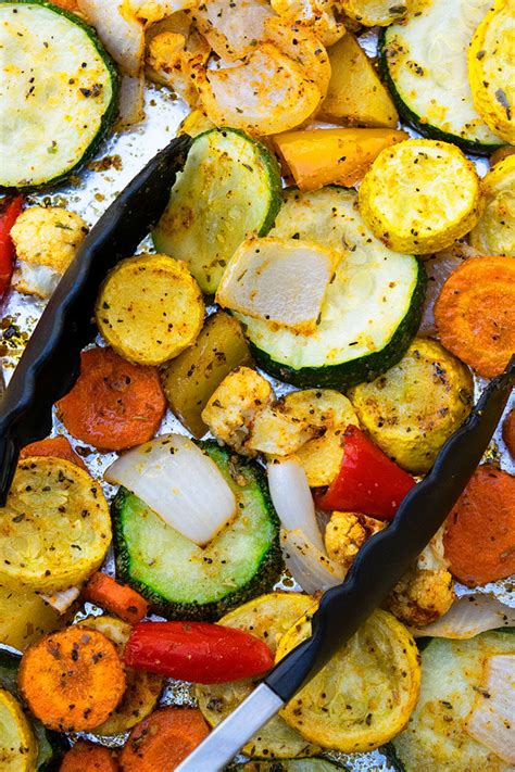 oven roasted vegetables  pan  pot recipes