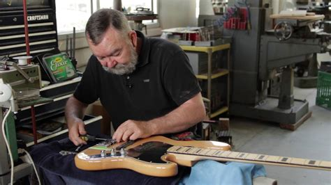 How Upgrade The Bridge Your Fender Bass Guitar Youtube