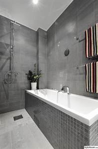 light grey tile floor darker grey tile walls home decor With several bathroom tile ideas tips home
