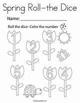 Coloring Dice Roll Twistynoodle Noodle Twisty Favorites Login sketch template