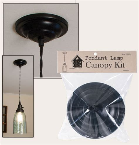 pendant l canopy kit