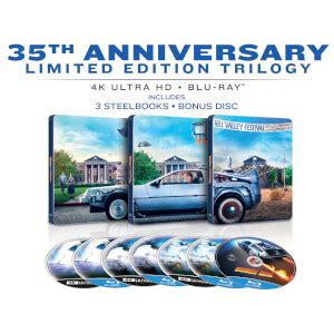 Back To The Future: The Ultimate Trilogy - 4K Ultra HD Blu ...