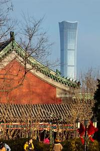 kpf designed citic tower opens as beijing 39 s tallest building