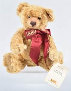 STEIFF 125 YEAR CELEBRATION TEDDY BEAR