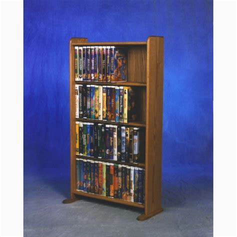 Cd Cupboards by Model 407 Vhs Dvd Storage Rack