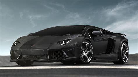 Black Lamborghini car Wallpaper - 9to5 Car Wallpapers
