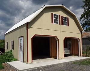 2 story garage With 2 story metal garage