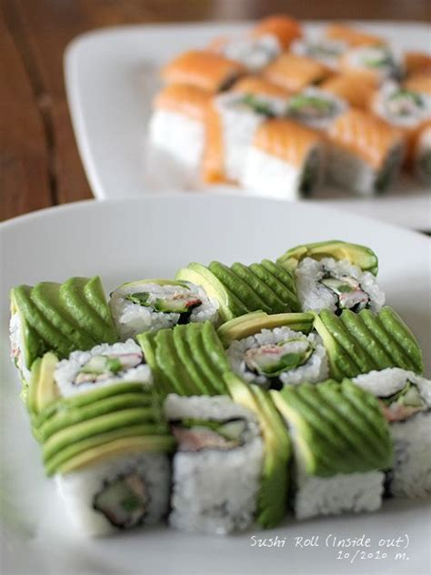 Avocado Sushi Roll Recipe