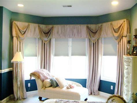 fresh decorating ideas kitchen bay window treatment 20019