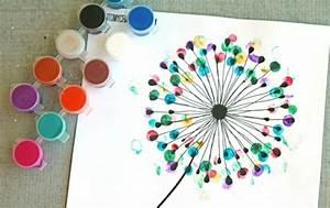 Bastelideen Mit Fotos : bastelideen f r die sommerferien fingerabdr cke mit kindern machen ~ Orissabook.com Haus und Dekorationen