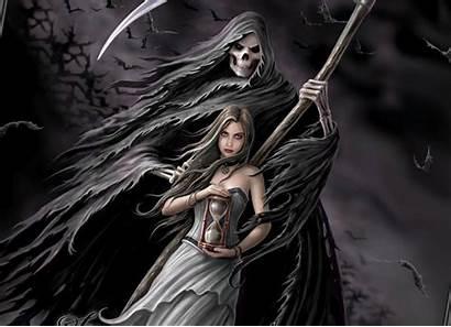 Reaper Grim Wallpapers Dark Lgan Ko Stephen