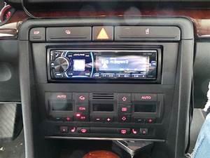 Radioblende 1-din Audi A4 Bj  10  2000