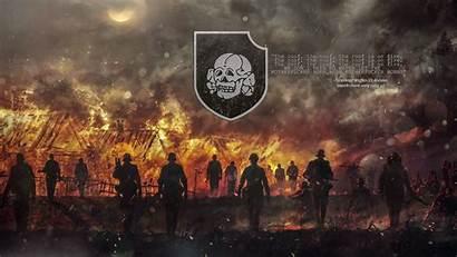 Waffen Ss Totenkopf Wallpapers Nazi Hintergrundbilder Cave